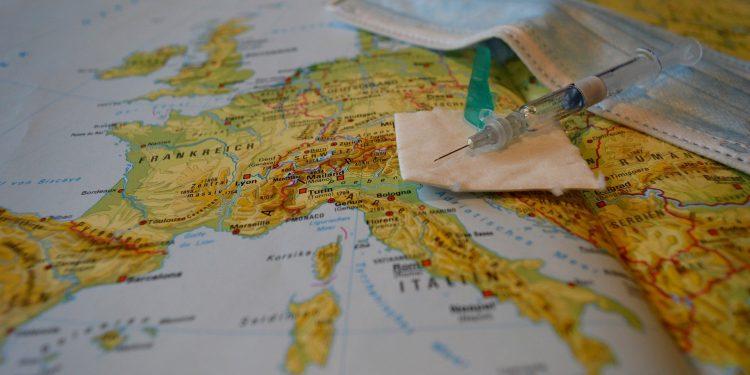 Continente europeu foi o mais castigado na primeira onda da Covid-19, no ano passado, o que exigiu adoção de medidas com o lockdown Foto: Pixabay/Divulgação