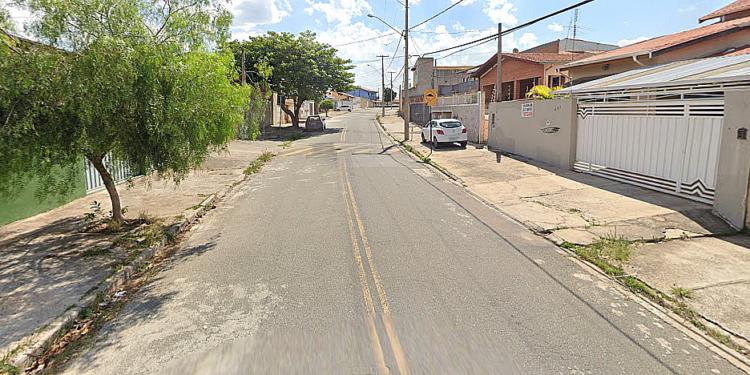Rua Francisco Bayardo, no Campos Elíseos, em imagem capturada do Google Street