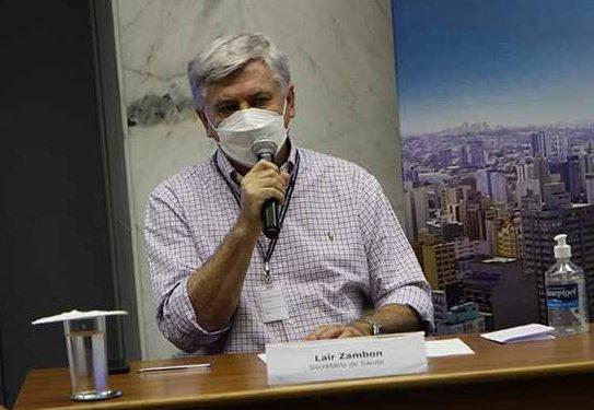 Lair Zambon, secretário de Saúde de Campinas: pandemia é mundial mas esse assunto é só no Brasil - Foto: Divulgação/Prefeitura de Campinas