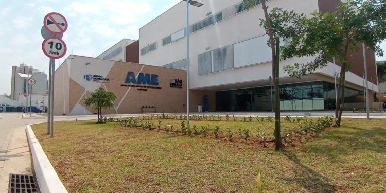A sede do AME receberá leitos de UTI e de enfermaria para atendimento de pacientes com Covid. Foto: Divulgação