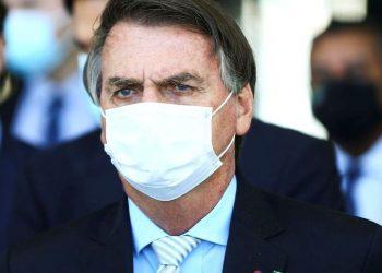 """O presidente da República, Jair Bolsonaro, que nesta quarta-feira atacou os membros da CPI, chamando-os de """"bandidos"""" Foto: Marcelo Camargo/Agência Brasil"""
