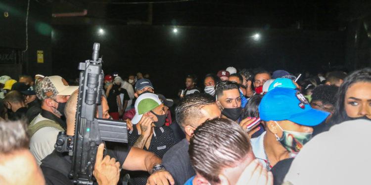 Guarda Municipal e Vigilância Sanitária fazem fiscalização em festa clandestina na Grande SP. No total, 44 milhões de pessoas receberão mensagens. Foto: Divulgação