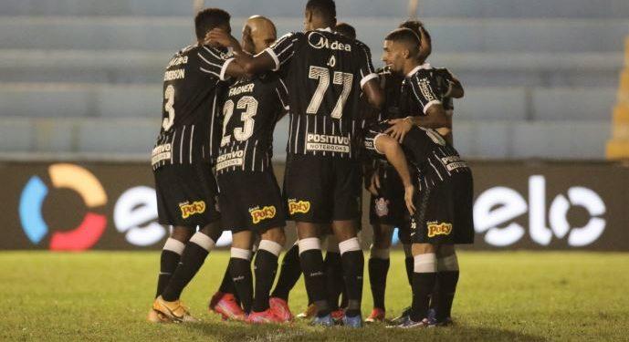 Time do Corinthians venceu o Salgueiro (PE) por 3 a 0 - Foto: Rodrigo Coca/Agência Corinthians