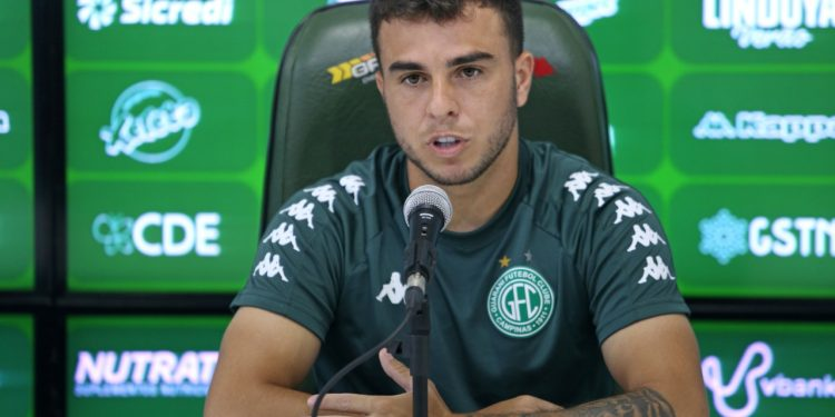 """Andrigo: """"É sempre ruim ter  indefinição. Nos cabe trabalhar como se tivesse jogo"""" - Foto: Thomaz Marostegan/Guarani FC"""