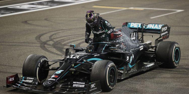 Hamilton, da Mercedes: primeira prova marcou também a estreia da Band na F1
