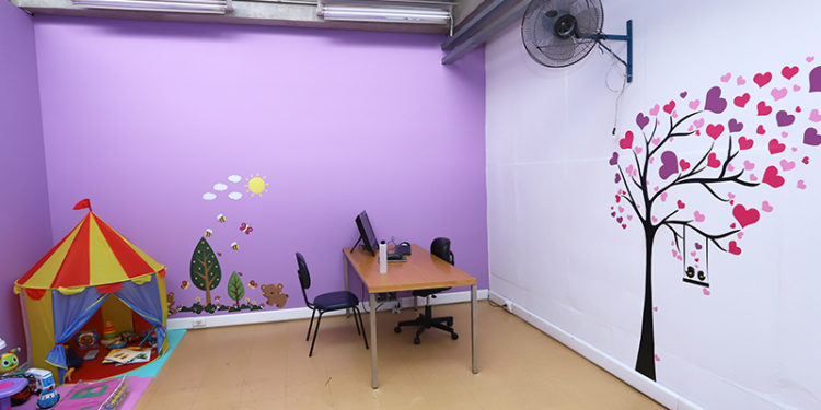 A sala lilás funciona de segunda a sexta, na Base do Centro da Guarda Municipal, na Avenida Moraes Salles, próximo ao Terminal Central. Foto: Divulgação