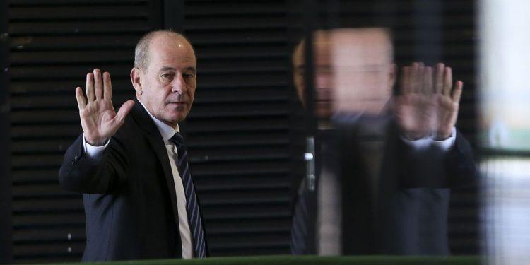 O ministro da Defesa, Fernando Azevedo e Silva, não esclareceu os motivos de sua saída. Foto: Marcelo Camargo/Agência Brasil