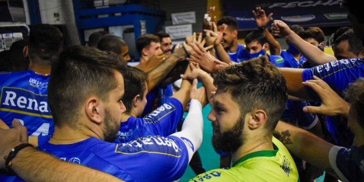 O Vôlei Renata disputará a série semifinal da Superliga em Saquarena, no Rio. Foto: Divulgação