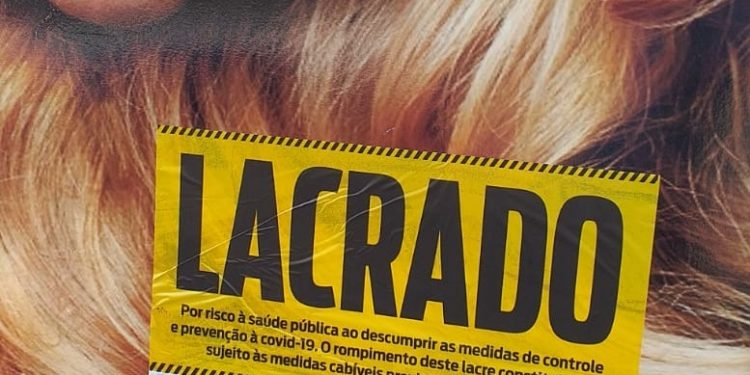 O dono do salão de beleza terá de pagar multa de  pouco mais de R$ 3 mil. Foto: Divulgação/PMC