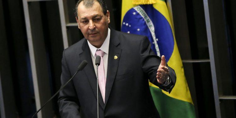 Senador Omar Aziz, presidente da CPI da Pandemia, instrumento investigatório da conduta do governo durante a crise sanitária Foto: Marcelo Camargo/Agência Brasil