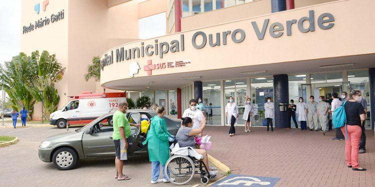 O SUS municipal, que inclui o Hospital Ouro Verde, tem apenas três leitos livres. Foto: Arquivo