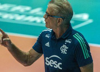 Bernardinho conquistou duas medalhas olímpicas de ouro com o vôlei brasileiro. Foto: Arquivo