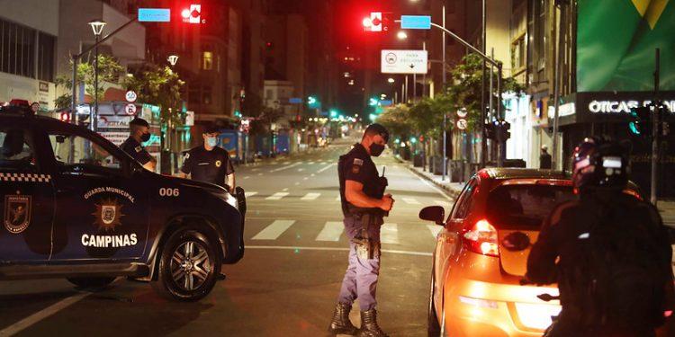 Nas ações do toque de recolher, 10.602 veículos foram abordados em Campinas. Foto: Adriano Rosa/PMC