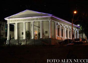 Sede imponente da Academia Campinense de Letras na Rua Marechal Deodoro, Centro Foto: Alex Nucci/Divulgação