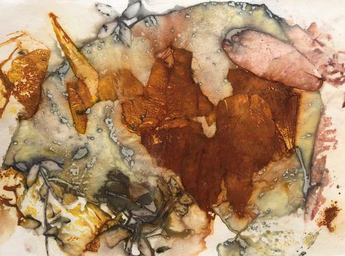 Obra da artista plástica Olívia Niemeyer que faz parte da mostra - Foto: Divulgação