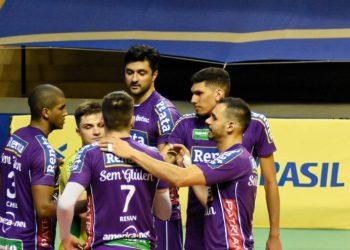 A equipe campineira terá pela frente o Taubaté, em melhor de três jogos. Foto: Pedro Teixeira/Vôlei Renata