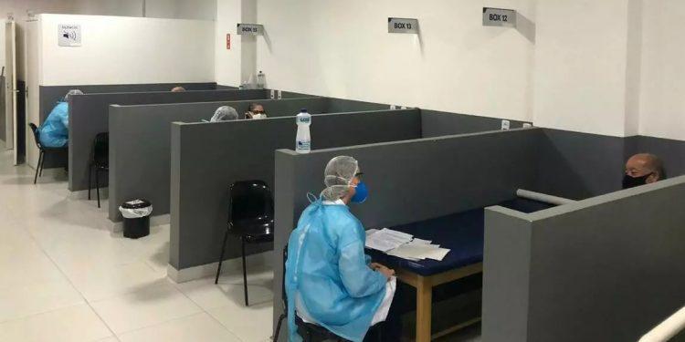 Centro de reabilitação de fisioterapia para para pacientes que se recuperaram de Covid em Hortolândia. Foto: Divulgação