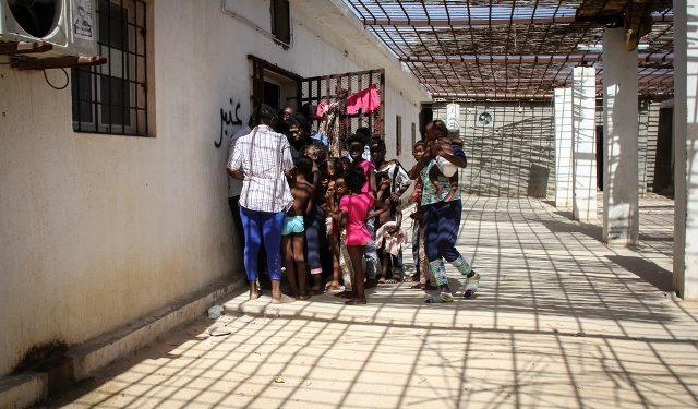 Centro de detenção de mulheres e crianças - Foto: Divulgação Médicos Sem Fronteiras