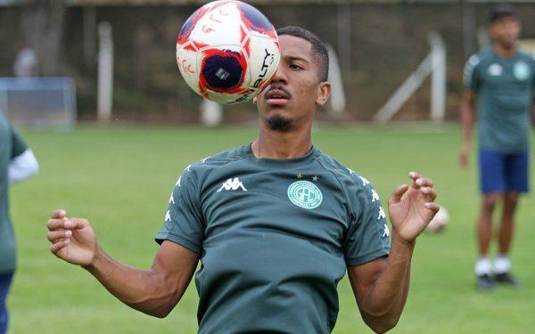 Empresa pede bloqueio da transferência do jogador Davó - Foto Thomaz Marostegan/GuaraniFC
