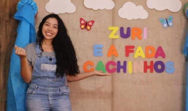 A professora de Educação Infantil, Pamela Pereira - Foto: Divulgação/Prefeitura de Hortolândia
