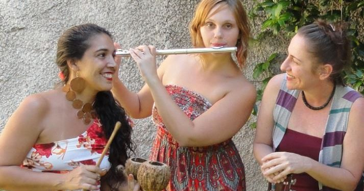 Grupo de samba feminino Mana Dinga apresenta processo de criação da música  - Foto: Divulgação