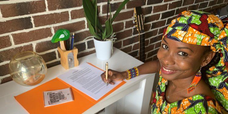 A ativista ambiental Hindou Oumarou Ibrahim – Foto: Divulgação