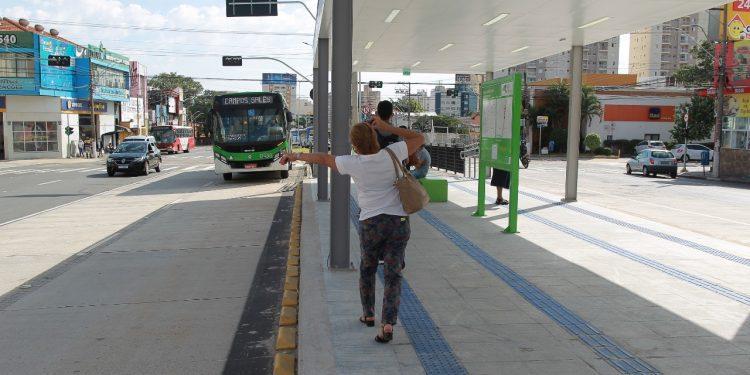 Estação do BRT entrou em operação na última segunda-feira - Foto: Leandro Ferreira/ Hora Campinas