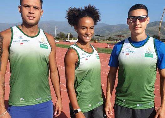 Os atletas Tiffani Marinho, Márcio Teles e Alexander Russo integram o Programa de Preparação Olímpica- Foto: Divulgação/Orcampi