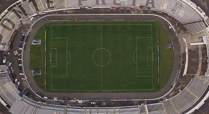 Visão aérea do Estádio Moisés Lucarelli, paixão dos pontepretanos Foto: Divulgação/Ponte Preta