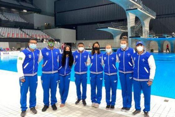Seleção brasileira saltos ornamentais: Copa do Mundo em Tóquio - Foto: Sátiro Sodré/ CBDA