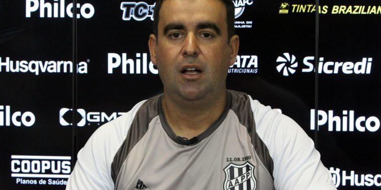 , Fabinho Moreno esperava uma exibição à altura do que a equipe vinha mostrando nos treinamentos. Foto: Ponte Press/Diego Almeida
