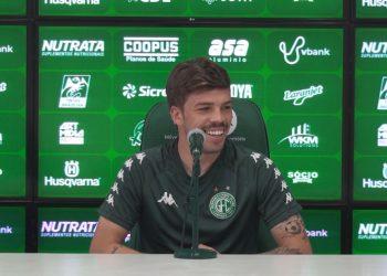 Júlio César deve estar entre os titulares do Bugre na partida deste domingo contra o Corinthians, às 20h, no Brinco Foto: Comunicação/Guarani FC