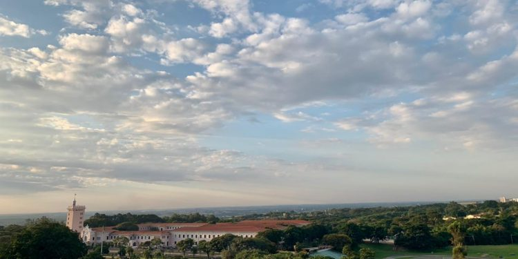 Fim de tarde em Campinas nesta segunda-feira, que teve temperatura superior aos 30°. Foto: Divulgação