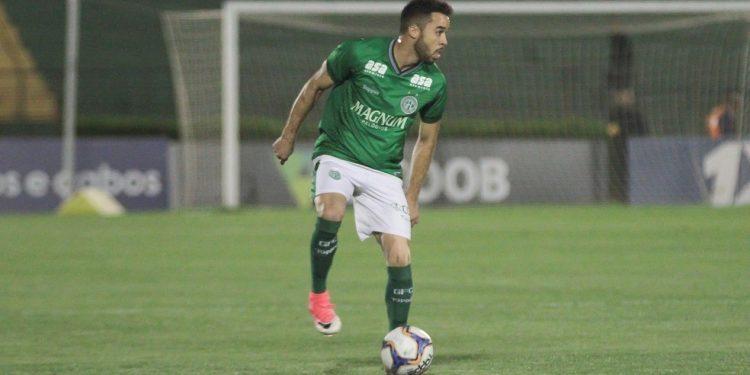 O lateral Lenon disputou 164 partidas pelo Bugre e marcou quatro gols. Foto: Letícia Martins / Guarani FC