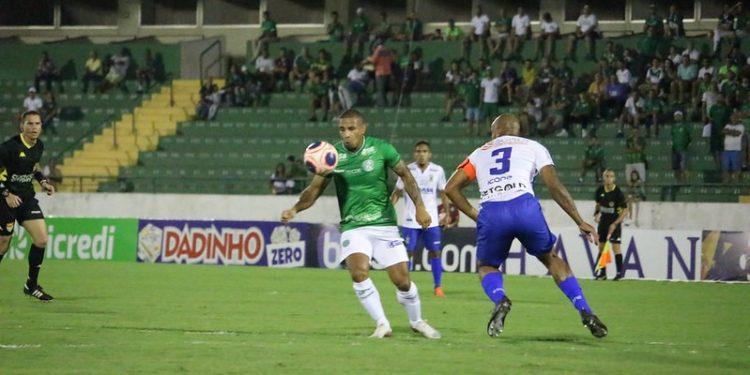 Lance de jogo - Foto: David Oliveira/Guarani FC