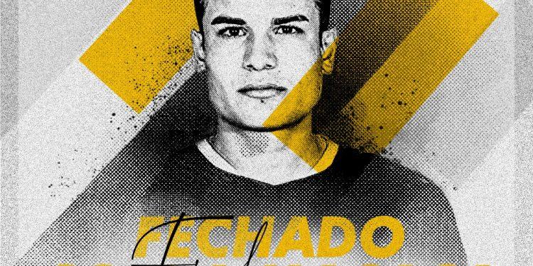 Revelado pelo clube gaúcho, Felipe se apresentou nesta terça-feira (27) no Moisés Lucarelli. Imagem: Divulgação