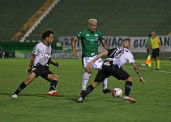 O dérbi do próximo dia 5 será o segundo do ano; o primeiro terminou empatado por 1 a 1. Foto Thomaz Marostegan/Guarani FC