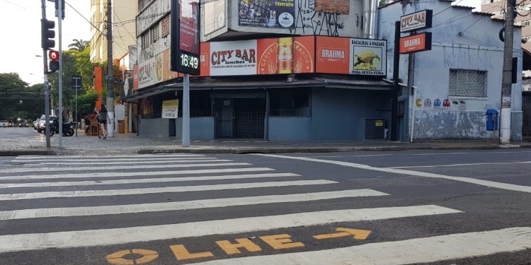 O City Bar está fechado há dois meses, devido à pandemia e às restrições de atendimento. Foto: Leandro Ferreira/Hora Campinas