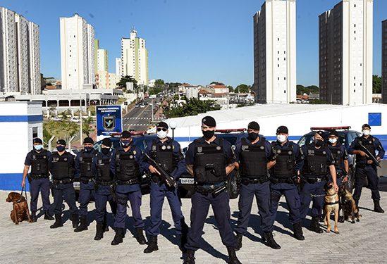 Cerca de 90 guardas municipais estão baseados nas novas instalações. Foto: Carlos Bassan/PMC
