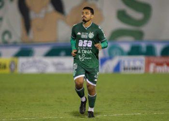 Bidu é desfalque para a partida diante do Santo André. Guarani é 3º colocado no Grupo D. Foto: Thomaz Marostegan \ GFC