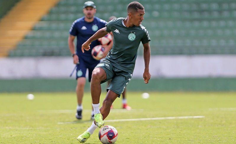 Davó está emprestado pelo Corinthians com contrato válido até o final do Campeonato Paulista. Foto: Thomaz Marostegan/Guarani FC