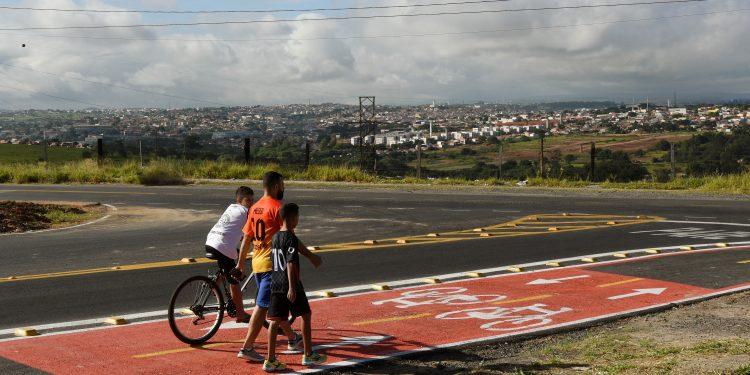 Trecho da Ciclovia Pirelli\Sirius, que foi entregue ao público nesta terça: sistema atinge 71 km de extensão. Foto: Divulgação \ PMC