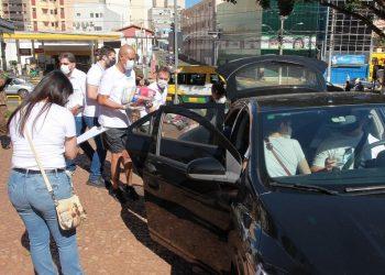 Campanha de doações de alimentos no Paço Municipal foi um sucesso. Foto: Leandro Ferreira/Hora Campinas