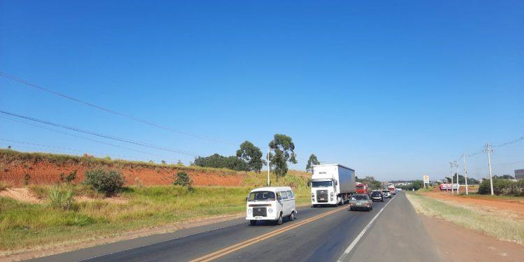 Trecho da rodovia José Lozano Araújo (SPA 110/330), ligação entre a Via Anhanguera e Paulínia. Foto: Divulgação