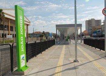 Estação João Jorge do BRT entrou em operação nesta segunda (05) - Foto: Leandro Ferreira/Hora Campinas
