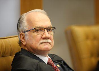 O ministro Edson Fachin mais uma vez foi favorável a anulação das condenações. Foto: STF/Divulgação