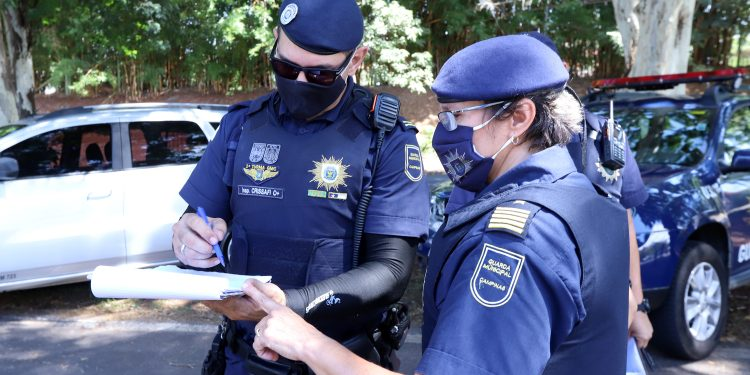 Todo o material foi apreendido pela Guarda Municipal e levado para o 11º Distrito Policial para registro da ocorrência. Foto: Divulgação