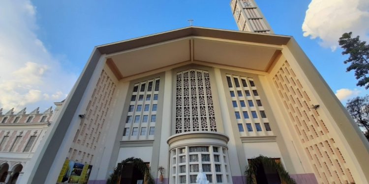 Paróquia N. Sra Auxiliadora, em Campinas,. Pelo segundo ano consecutivo em quase 60 anos de fundação, igreja faz uma Semana Santa diferente. Foto: Divulgação