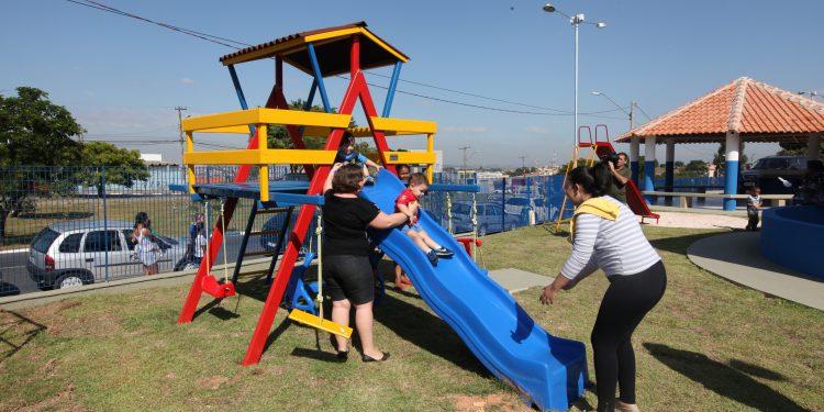 As creches municipais retomam as suas atividades com redução de horário e revezamento de turmas a partir da semana que vem. Foto: Divulgação