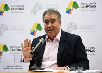 O ex-prefeito de Campinas, Jonas Donizette, que hoje é presidente do Frente Nacional de Prefeitos: CPI da Covid. Foto: Divulgação